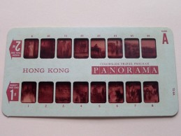 HONG KONG PANORAMA Card A ( Colorslide Travel Program Columbia Record Club / Zie Foto´s Voor Details ) ! - Lieux