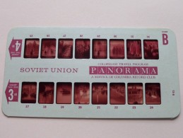 SOVIET UNION PANORAMA Card B ( Colorslide Travel Program Columbia Record Club / Zie Foto´s Voor Details ) ! - Lieux
