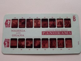 NIGERIA And GHANA PANORAMA Card B ( Colorslide Travel Program Columbia Record Club / Zie Foto´s Voor Details ) ! - Lieux