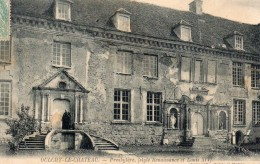 CPA - OULCHY LE CHATEAU- PRESBYTERE - France