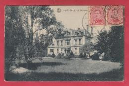 Quiévrain- Le Château ... Gouvion -1922 ( Voir Verso ) - Quiévrain