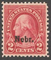 USA Sc# 671 MNH 1929 2¢ Carmine George Washington