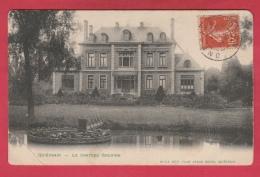 Quièvrain - Le Château Gouvion ... Oblitération Française - 1908 ( Voir Verso ) - Quiévrain