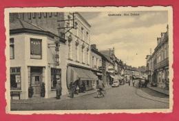 Quiévrain - Rue Debast - Magasins, Café, Rue Commercante -1957 ( Voir Verso ) - Quiévrain