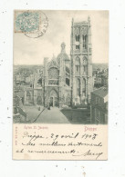 Cp , 76 , DIEPPE , église SAINT JACQUES , Dos Simple , Voyagée 1903 , Ed : St & Co - Dieppe