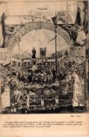 MACON -71- GRANDES FETES POUR L'INAUGURATION DE LA STATUE DE LAMARTINE EN 1878 - Macon