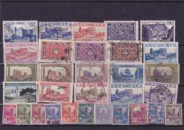 TUNISIE : Y&T : Lot De 30 Timbres Oblitérés - Tunisie (1956-...)