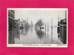 PARIS Inondé (janvier 1910), Quai De La Rapée, (Taride) - Inondations De 1910