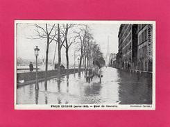 PARIS Inondé (janvier 1910), Quai De Grenelle, Animée, Charrette,  (Taride) - Inondations De 1910