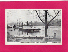 PARIS Inondé (janvier 1910), Port St-Nicolas, (Taride) - Inondations De 1910