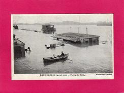 PARIS Inondé (janvier 1910), Porte De Bercy, Animée, Barque,  (Taride) - Inondations De 1910