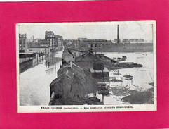 PARIS Inondé (janvier 1910), Rue Lecourbe (jardins Maraîchers) - Inondations De 1910