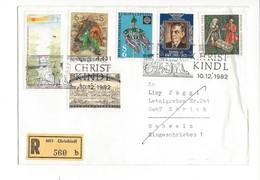 19017 - Christkindl Cover Recommandé Pour Zürich 10.12.1982 - Noël