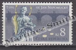 Czech Republic - Tcheque 1993 Yvert 4 600th Ann. Death Of Saint John Nepomucene - MNH - Czech Republic