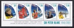 New Zealand 2009 Sir Peter Blake Minisheet MNH - See Notes - New Zealand