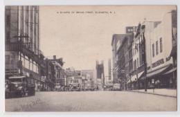 ELIZABETH (New Jersey) - A Glimpse Of Broad Street - Ice Truck - Goerkes - Elizabeth