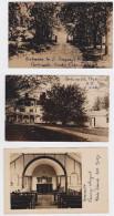 PORTSMOUTH (Rhode Island) - Priory - Lot Of 3 Photo Postcards - Etats-Unis
