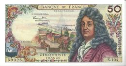 FRANCE - 50 Francs Racine 2-2-1967 - 1962-1997 ''Francs''