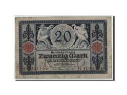 Allemagne, 20 Mark, 1915, KM:63, 1915-11-04, B+ - [ 2] 1871-1918 : Empire Allemand