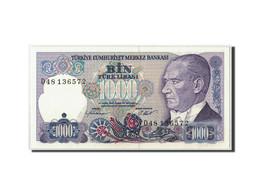Turquie, 1000 Lira, L.1970 (1986), KM:196, SPL - Türkei