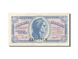 Espagne, 50 Centimos, 1937-1938, KM:93, 1937, SPL - [ 3] 1936-1975 : Régence De Franco