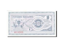 Macédoine, 10 (Denar), 1992, 1992, KM:1a, SPL - Macedonia