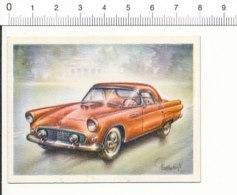 Chromo Cigarettes Virginia / FORD Thunderbird 1954 - Auto Ancienne Voiture Automobile / IM 01-car-1 - Cigarette Cards