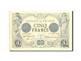 France, 5 Francs, 5 F 1871-1874 ''Noir'', 1873, 1873-05-16, KM:60, TTB+ - 1871-1952 Anciens Francs Circulés Au XXème