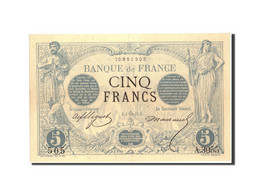 France, 5 Francs, 5 F 1871-1874 ''Noir'', 1873, 1873-09-04, KM:60, TTB+ - 1871-1952 Anciens Francs Circulés Au XXème