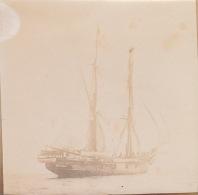 Photo Vers 1900 Le Havre Bateau à Voile - Bateaux