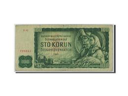 Tchécoslovaquie, 100 Korun, 1961, KM:91b, B+ - Tchécoslovaquie