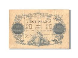 France, 20 Francs, ...-1889 Circulated During XIXth, 1871, 1871-05-09, KM:55 - ...-1889 Anciens Francs Circulés Au XIXème