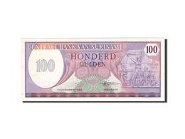 Surinam, 100 Gulden, 1982, 1985-11-01, KM:128b, SUP - Surinam