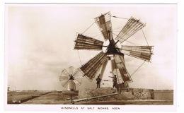 RB 1132 - Super Image - Real Photo Postcard - Windmills At Aden Salt Works - Yemen - Yemen