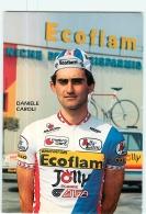 Daniele CAROLI . 2 Scans. Cyclisme. Ecoflam Jolly - Ciclismo