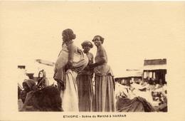 ETHIOPIE SCENES DU MARCHE A HARRAR - Ethiopie