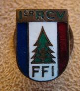 INSIGNE MAQUIS...F.F.I   1 °  R.C.V  ..Matricule - Esercito