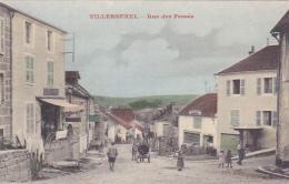 Cpa (colorisée)-70-villersexel -animée-rue Des Fossés-edi  Sisler - Autres Communes