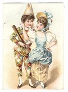 CHROMO CHOCOLAT DE GUYENNE - COUPLE D'  ENFANTS - ARLEQUIN - MODE - Other