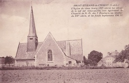 Saint-Etienne-de-Chigny - L'Eglise Du Vieux Bourg - Other Municipalities