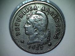 Argentine 10 Centavos 1937 - Argentina