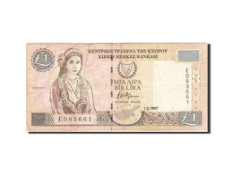 Chypre, 1 Pound, 1997, 1997-02-01, KM:57, TTB - Chypre