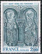 FRANCE : N° 1867 Oblitéré (Eglise De Sait-Genis-des-Fontaines) - PRIX FIXE -
