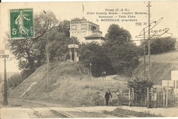 ORSAY - Hôtel Family House - Restaurant - Table D' Hôte L. BOUTOILLE Propriétaire (passage à Nineau)   33 - Orsay
