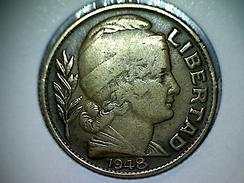 Argentine 10 Centavos 1948 - Argentine