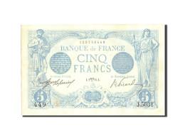 France, 5 Francs, 5 F 1912-1917 ''Bleu'', 1915, 1915-04-02, KM:70, SUP - 1871-1952 Anciens Francs Circulés Au XXème