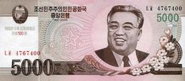 NORTH KOREA 5000 원 (WON) 2008 (2014) P-NL UNC COMMEMORATIVE [KP356a] - Korea, North