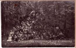 Latvia. Valmiera. Smiltenes Realskolas Ekskursija Uz Zilokalnu 9.sept. 1919. - Latvia