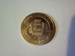 JETON 3 EURO PONT DE NORMANDIE MEDAILLE DE LA VILLE DU HAVRE 1996 INAUGURATION ? - Monnaie De Paris