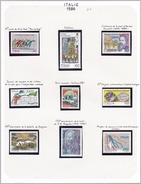Italie - Collection Vendue Page Par Page - Timbres Neufs ** - 1981-90:  Nuovi